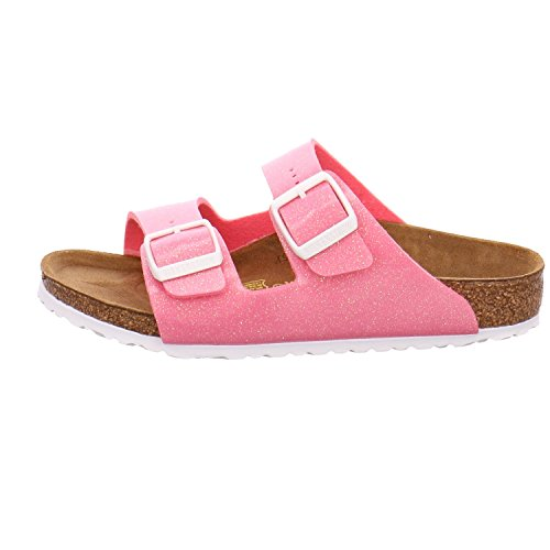 Birkenstock Unisex Kinder Arizona Sandalen, Magic Galaxy White Pink (Magic Galaxy Pink)