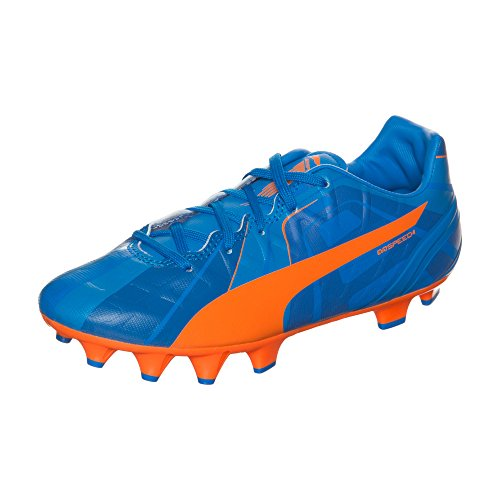 Puma evoSPEED 4.4 FG Unisex-Kinder Fußballschuhe Blau