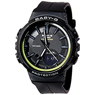 Casio Baby-g Analog-Digital Black Dial Women's Watch – BGS-100-1ADR (BX095)