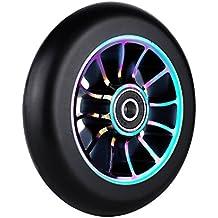 Pro Stunt Scooter ruedas 110mm rueda de repuesto con ABEC-9rodamientos, 1pcs, morado