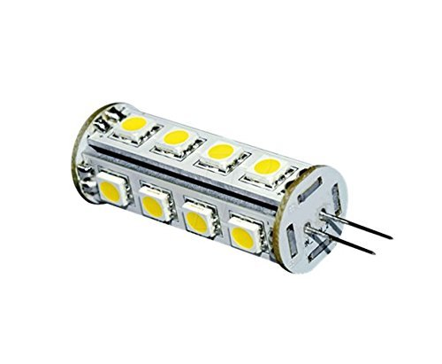 12 vmonster 1 Pack AC DC 12 V 24 V 3 W Warm Weiß 17 x 5050 Cluster LED Leuchtmittel GU4 G4 Lampe 24 V JC 8 V 30 V Tower LED -