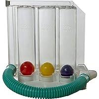 Infi Infi0009 3 Balls Spirometer Respiratory Lung Exerciser (Multi-Colour)