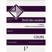 DROIT DES SOCIETES. Cours, 2ème édition