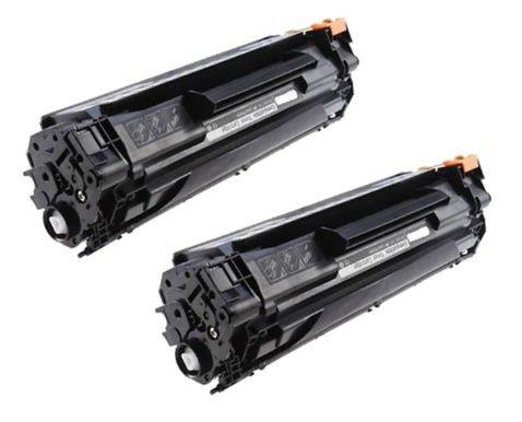 2 PREMIUM Toner kompatibel für HP CB436A 36A Laserjet P1505, P1505N, M1120...