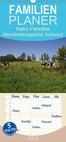 Natur-Paradies Mecklenburgische Schweiz - Familienplaner hoch (Wandkalender 2019 , 21 cm x 45 cm, hoch): Natur-Paradies Mecklenburgische Schweiz (Monatskalender, 14 Seiten ) (CALVENDO Natur)