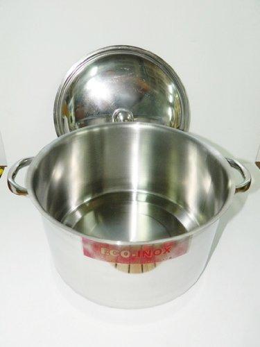 Marmite Cuve Faitout avec couvercle inox de diamètre 18 cm cocotte cuisine