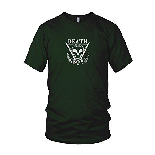 Death From Above - Herren T-Shirt Dunkelgrün