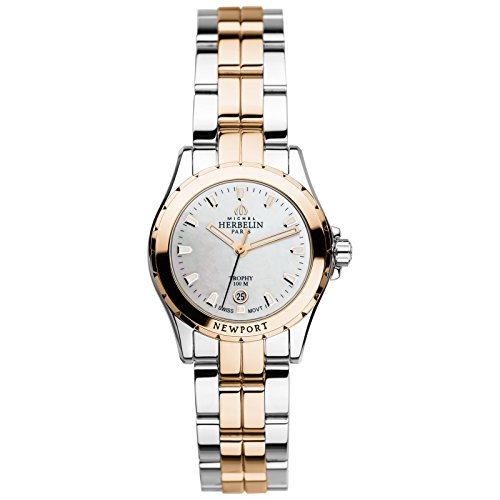 Ladies Michel Herbelin Newport Trophy Watch 12870/BTR19