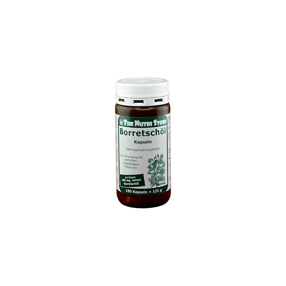 Borretschl 500 Mg Pro Kapsel 180 Stk