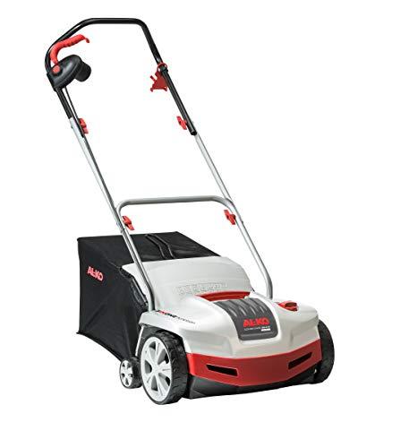 AL-KO Elektro-Vertikutierer Combi Care 38.6 E Comfort, 38 cm Arbeitsbreite, 1300 W Motorleistung, für Flächen bis 800 m², Arbeitstiefe 5-fach zentral verstellbar, inkl. Fangsack und Lüfterwalze