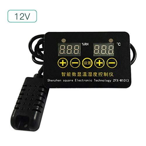Delicacydex Intelligente Digitale Temperatur & Luftfeuchtigkeit Controller Sensor Sonde Dual-Zweck Konstante Temperaturregelung Schalttafel