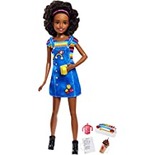 Mattel Barbie fhy91–Skipper Baby Sitters con bambola e accessori set di cioccolato Shake