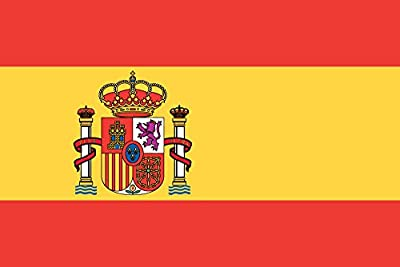 My Planet Large 5'x3' Spain Flag Premium Quality Spanish Supporter Fans Decoration Flag