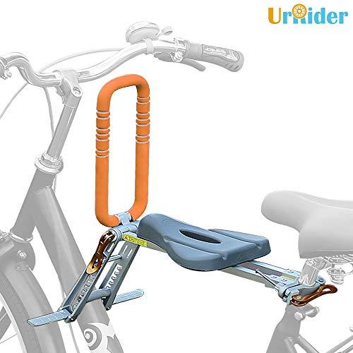 UrRider Fahrradkindersitz, Fahrradkindersitz für Kleinkinder, Faltbarer und ultraleichter Baby-Kinderfahrradträger-Handlauf für Cruiser/Faltbare/City-Shared-Bikes
