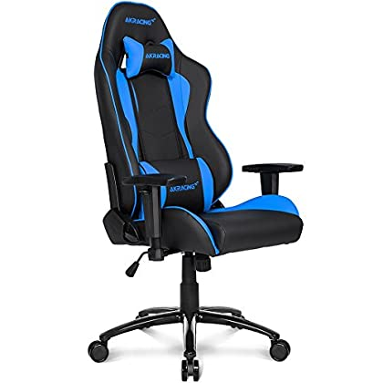 AKRACING Nitro - Silla de gaming, negro/azul