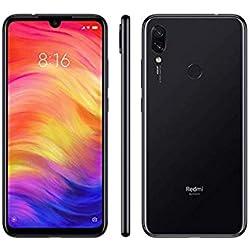 Redmi Note 7 - Smartphone de 6.3 pulgadas (4GB + 64GB, Sistema operativo Android, Resolución de pantalla 2340 x 1080 Pixeles), Negro (Space Black)