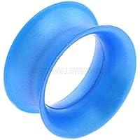 Kaos Silicone Occhiello Skin - Cobalt Blue Pearl 12mm