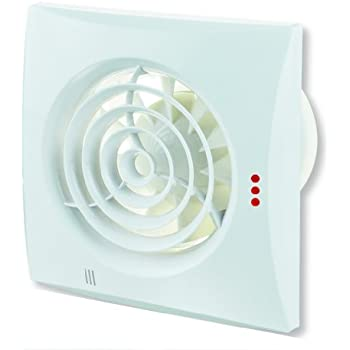 Quiet V2 Extracteur d'air silencieux avec détecteur d'humidité hygrostat