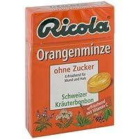 Ricola Orangenminze Box, 50 g preisvergleich bei billige-tabletten.eu