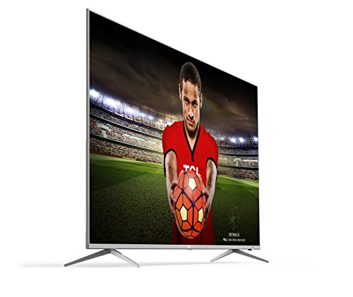 TCL 55DP648 55 Inch 4K Ultra HD HDR 10 TV with Smart Freeview Play - Silver (2018 Model)