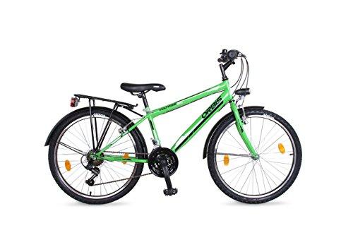 26 Zoll Kinderfahrrad Cityfahrrad Herren Fahrrad City Bike Rad Jugendfahrrad STVO 18 GANG Voltage GRÜN