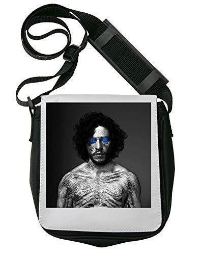 Jon Snow White Walker Winter Game of Thrones Schultertasche Herren Umhängetaschen Damen Taschen Unisex Shoulder Bag -