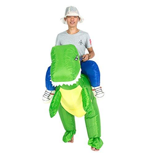 NiSeng Faschingskostüm Erwachsene Blow Up Kostüme Für Halloween Party Dinosaurier Kostüm (Dinosaurier Up Kostüm Blow)