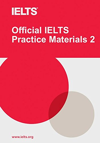 Official IELTS Practice Materials Volume 2: Paperback with DVD