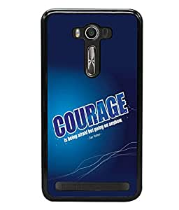 printtech Cool Quotes Success Back Case Cover for Asus Zenfone 2 Laser ZE550KL ,Asus Zenfone 2 Laser ZE550KL (5.5 Inches)