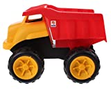 Unbekannt Sandwagen gelb / rot 38 cm