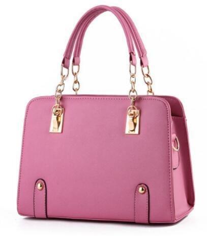 LDMB Damen-handtaschen Trendige Sommer Modelle Kette Lady Schulter Messenger Tasche rubber powder