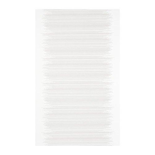 IKEA VATTENAX Schiebegardine in weiß; (60x300cm)