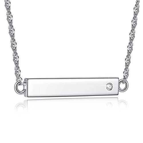 jessibox-collier-avec-pendentif-barrette-grave-love-en-argent-925-et-oxyde-de-zirconium