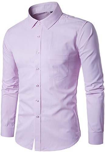 whatlees-mens-casual-long-sleeve-slim-fit-solid-button-down-dress-shirt-with-front-pocket-b399-pink-