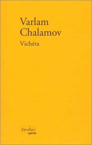 Vichéra par Varlam Chalamov