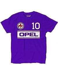 a3cd2141f Maglietta T-Shirt Calcio Vintage Giancarlo Fiorentina 10 Antognoni Stagione  83-8