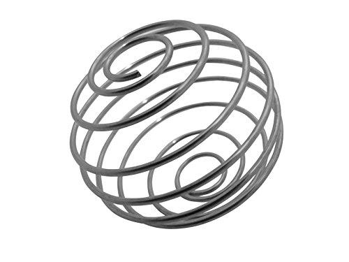 GymAdvisor Mixer Ball Edelstahl Mixer Quirl (Ersatzteil für Protein-Shaker)