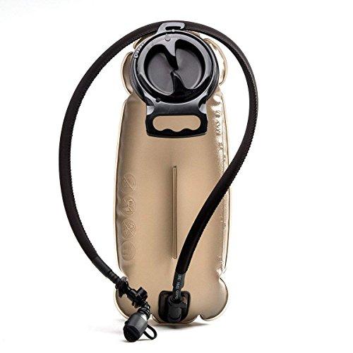 Unigear Trinkblase Hydration Blase Hydration Bladder Wasser-Blase Trinkbeutel Wassertank mit Schlauch ALS Trinksystem für Trinkrucksack, Fassungsvermögen von 2L