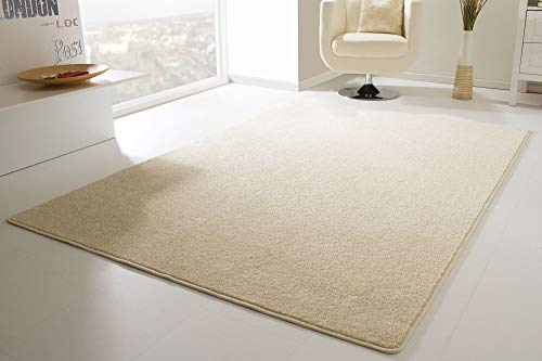 Designer Teppich Modern Cambridge in Beige, Größe: 160x230 cm
