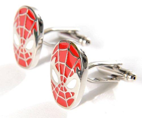 superhero-spiderman-cufflinks