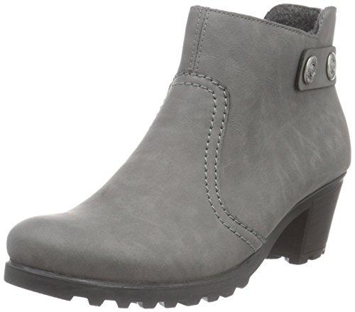 Rieker Damen Y8062 Kurzschaft Stiefel, Grau (dust / 42), 42 EU