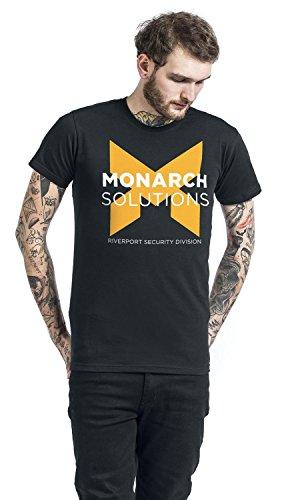 Quantum Break Monarch Solutions T-Shirt schwarz Black
