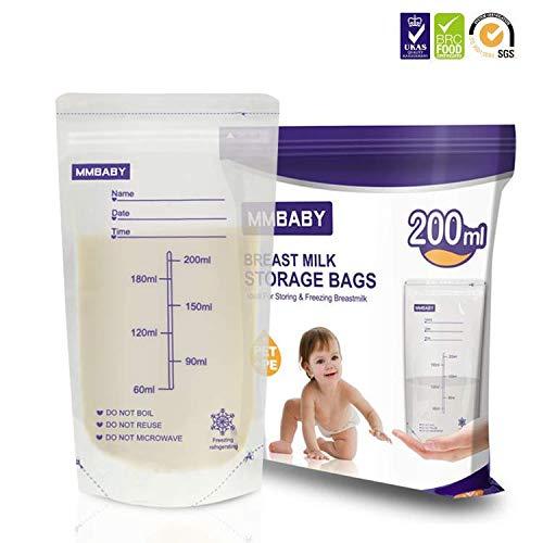 MMBAY 100 sachets de conservation de lait maternel (100 Sachets)