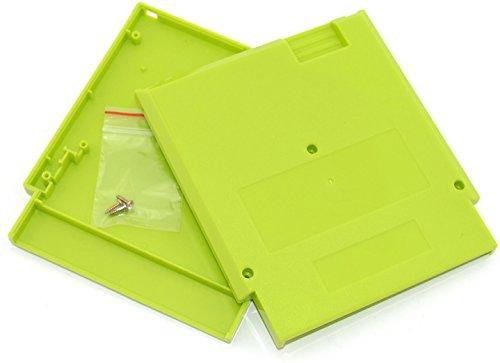 Ambertown® Grün Spiel Kartusche Shell Fall 72Pins 8Bit Karte für Nintendo NES mit 3Schrauben Ersatz