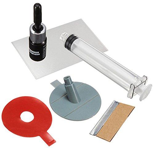 Auto Windschutzscheibe Repair Tools Kit DIY Glas Reparatur-Set Auto Glas für Chip Risse Windschutzscheibe Glas Kratzer Kratzer Reparatur Kits