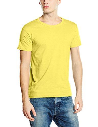Stedman Apparel Herren Regular Fit T-Shirt Gr. XL, Gelb - Daisy Yellow (Daisy Kurzarm-shirt)