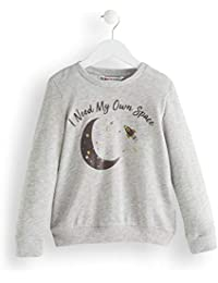 Marca Amazon - Red Wagon Moon And Stars, Sudadera para Niñas