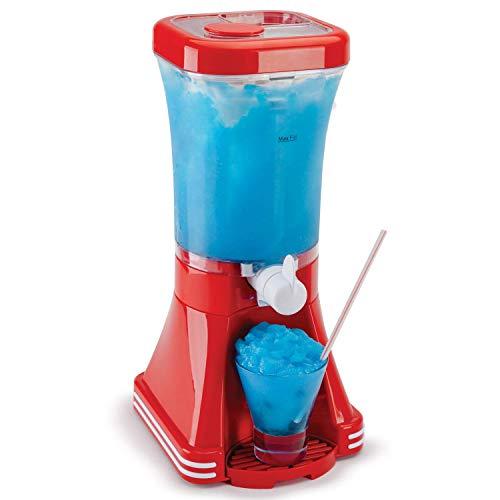 Maschine Slushie Maker - verbesserte Rezepte garantiert funktionieren - ideal für Kinder oder Erwachsene mit Slushy Sirups, Frucht-Smoothies und Cocktails