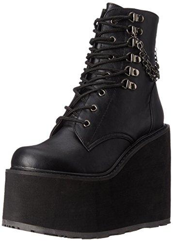 Demonia SWING-101, Zapatillas de Estar por casa para Mujer, Schwarz (Blk Vegan Leather), 39 EU