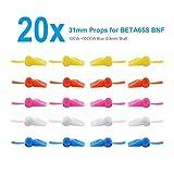 BETAFPV 5 Sets 2-Blade FPV Props 31mm Paddle 0.8mm Shaft for Tiny Whoop Quad